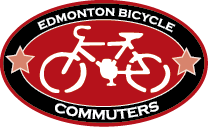 edmonton bicycle commuters