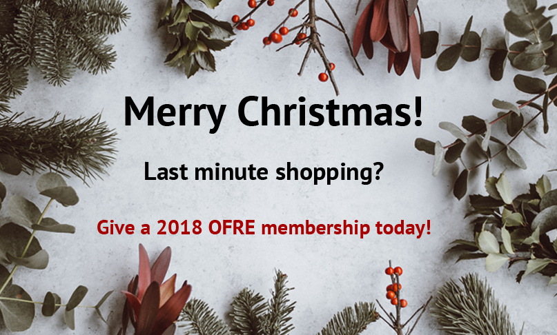 OFRE 2018 Gift Membership